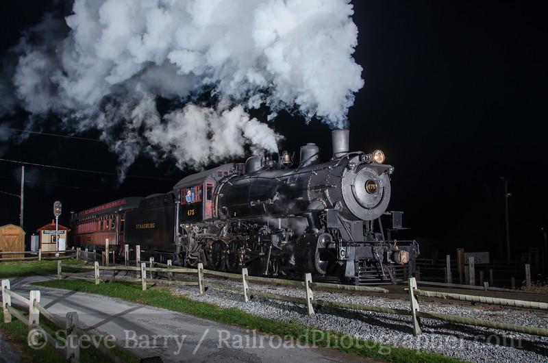 Photo 3621<br /> Strasburg Rail Road; Cherry Hill, Strasburg, Pennsylvania<br /> December 4, 2015