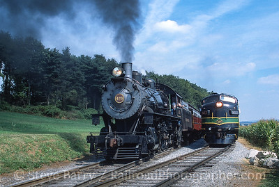 Photo 3601 Strasburg Rail Road; Paradise, Pennsylvania September 2001