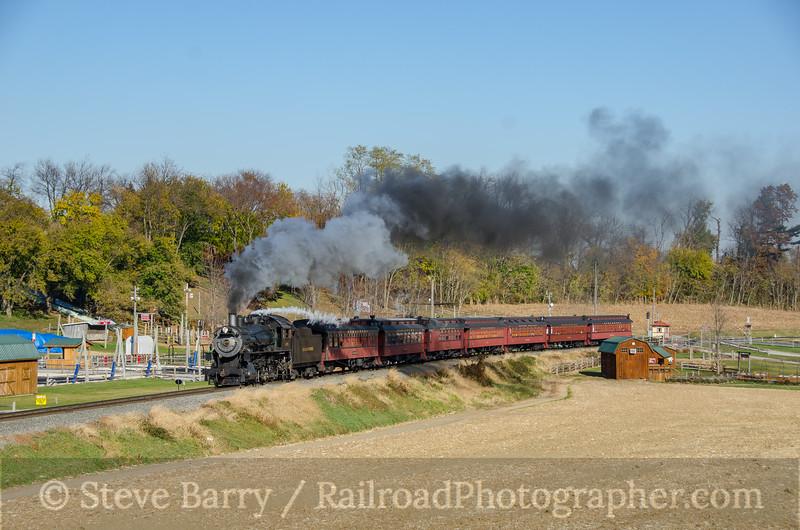 Photo 4005<br /> Strasburg Rail Road; Paradise, Pennsylvania<br /> November 18, 2016