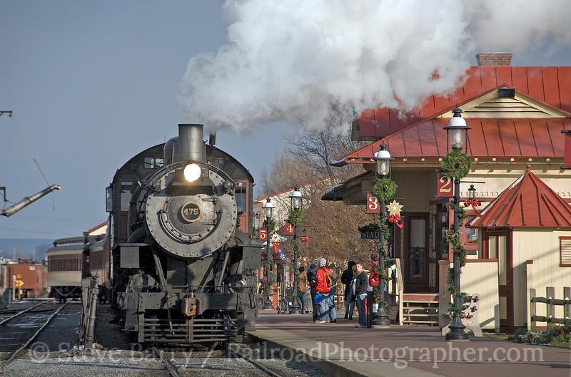 Photo 1489<br /> Strasburg Rail Road; Strasburg, Pennsylvania<br /> November 22, 2008