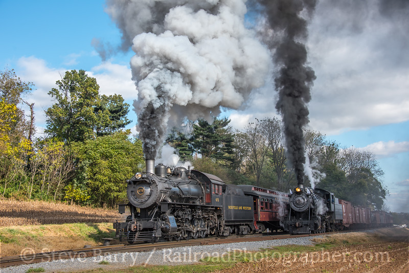 Photo 5355<br /> Strasburg Rail Road<br /> Cherry Hill, Paradise, Pennsylvania<br /> October 24, 2018