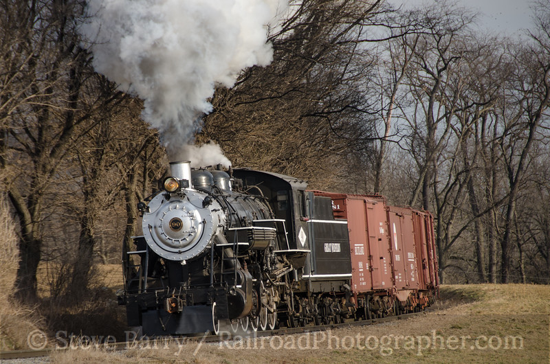 Photo 2596<br /> Strasburg Rail Road; Strasburg, Pennsylvania<br /> February 19, 2013