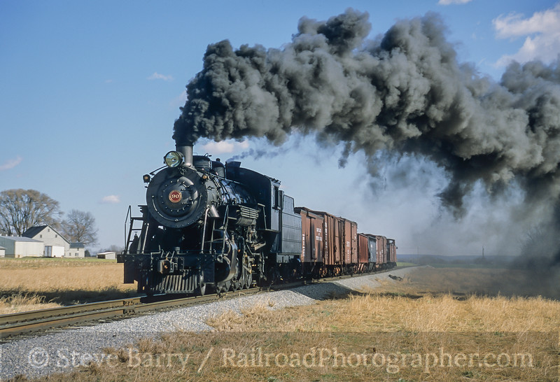 Photo 4217<br /> Strasburg Rail Road; Strasburg, Pennsylvania<br /> February 2006