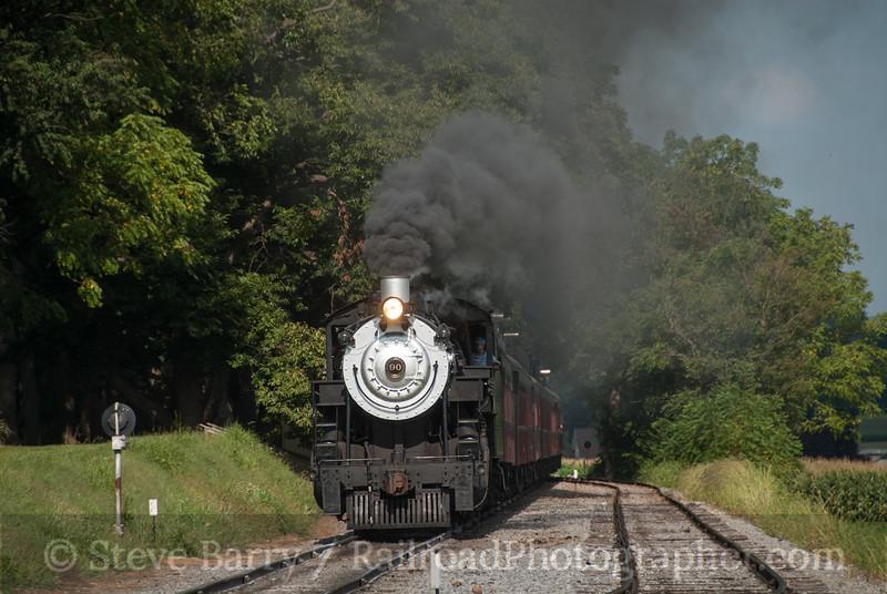 Photo 3200<br /> Strasburg Rail Road; Paradise, Pennsylvania<br /> August 10, 2014