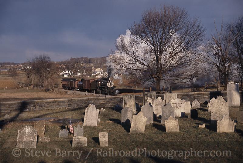 Photo 0503<br /> Strasburg Rail Road; Paradise, Pennsylvania<br /> February 2006