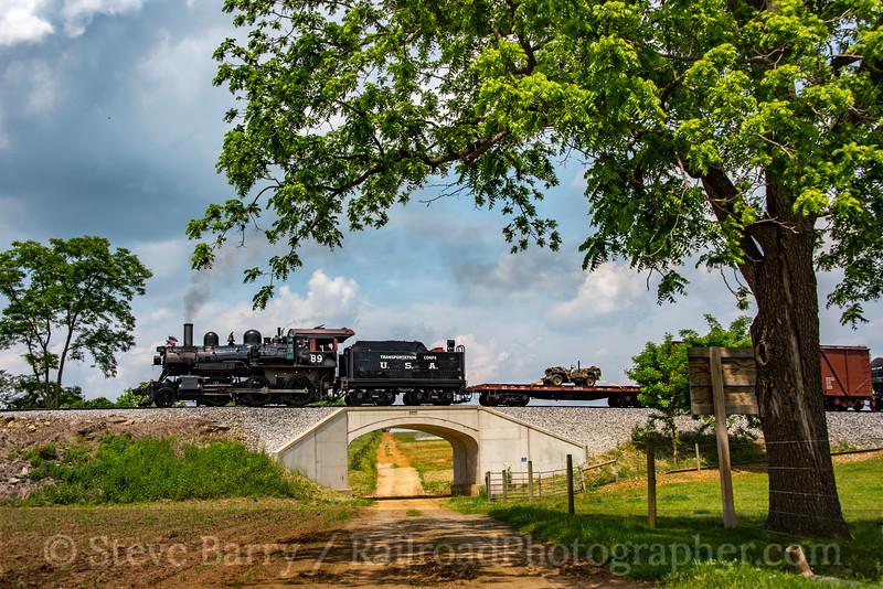 Photo 4693<br /> Strasburg Rail Road<br /> Paradise, Pennsylvania<br /> May 26, 2018
