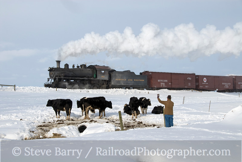 Photo 1787<br /> Strasburg Rail Road; Strasburg, Pennsylvania<br /> February 13, 2010