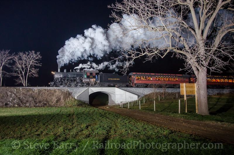 Photo 3634<br /> Strasburg Rail Road; Paradise, Pennsylvania<br /> December 11. 2015