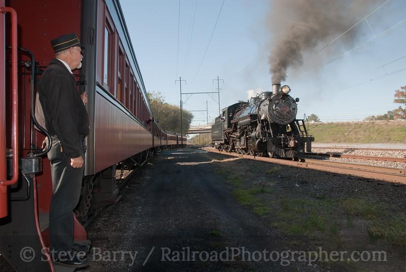 Photo 1957<br /> Strasburg Rail Road<br /> Paradise, Pennsylvania; October 16, 2010