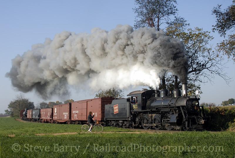 Photo 1034<br /> Strasburg Rail Road;  Paradise, Pennsylvania<br /> November 5, 2007