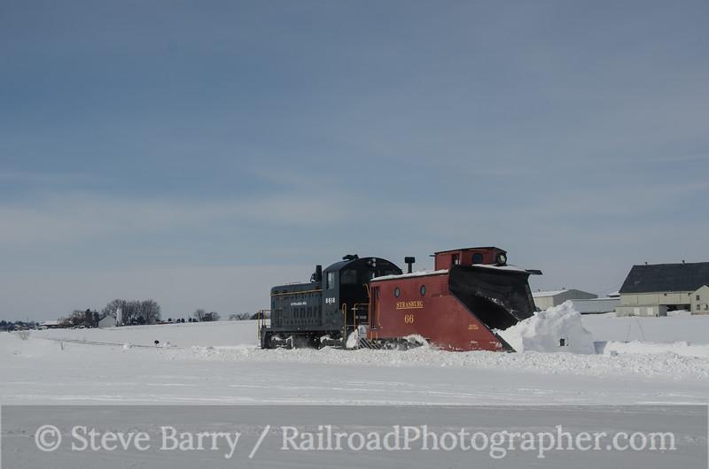 Photo 3079<br /> Strasburg Rail Road; Strasburg, Pennsylvania<br /> February 16, 2014