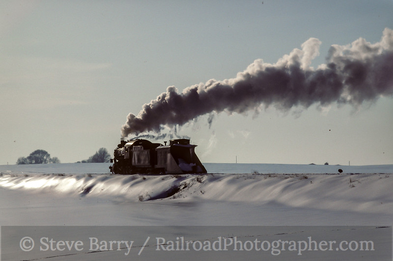 Photo 5045<br /> Strasburg Rail Road<br /> Cherry Hill, Strasburg, Pennsylvania<br /> February 1994