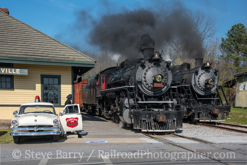 Photo 4606<br /> Tennessee Valley Railroad Museum<br /> Summerville, Georgia<br /> March 12, 2018