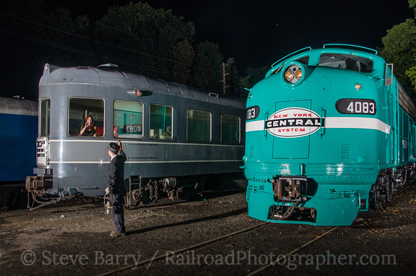Photo 3501 United Railroad Historical Society of New Jersey; Boonton, New Jersey September 19, 2015