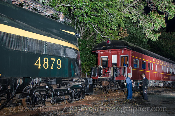 Photo 3500 United Railroad Historical Society of New Jersey; Boonton, New Jersey September 19, 2015