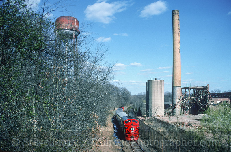 Photo 4538<br /> United Railroad Historical Society of New Jersey<br /> Whippany, New Jersey<br /> April 15, 1995