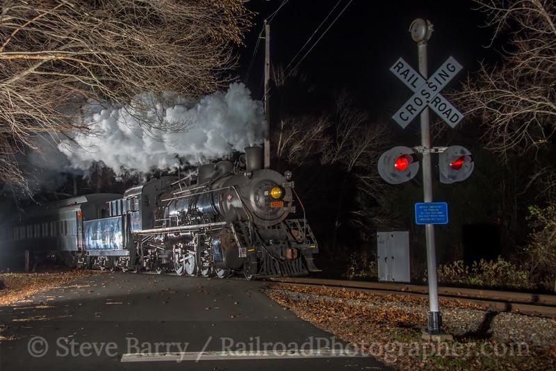 Photo 5365<br /> Valley Railroad<br /> Centerbrook, Connecticut<br /> November 11, 2018