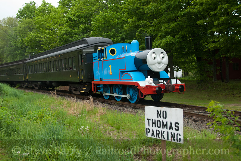 Photo 2071<br /> Thomas the Tank Engine; Essex, Connecticut<br /> May 15, 2011