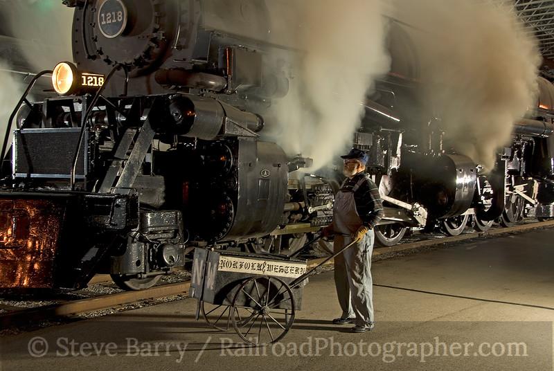 Photo 1744<br /> Virginia Museum of Transportation<br /> Roanoke, Virginia<br /> November 14, 2009