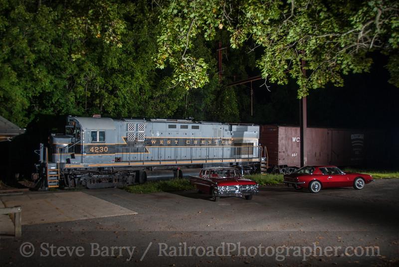 Photo 3201<br /> West Chester Railroad; Cheyney, Pennsylvania<br /> August 22, 2014