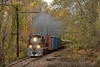 Photo 2264<br /> West Chester Railroad; Locksley, Pennsylvania<br /> October 28, 2011