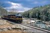 Photo 4546<br /> West Virginia Central<br /> Belington, West Virginia<br /> April 2005