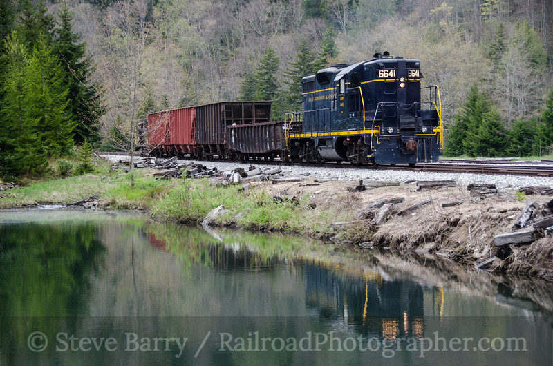 Photo 2693<br /> West Virginia Central; Cheat Bridge, West Virginia<br /> May 16, 2013