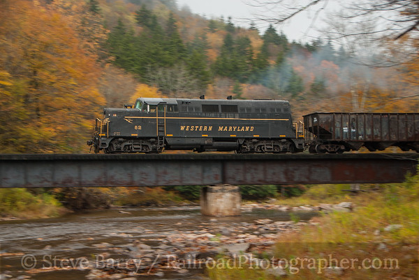 Photo 3233 West Virginia Central; Cheat Bridge, West Virginia October 12, 2014