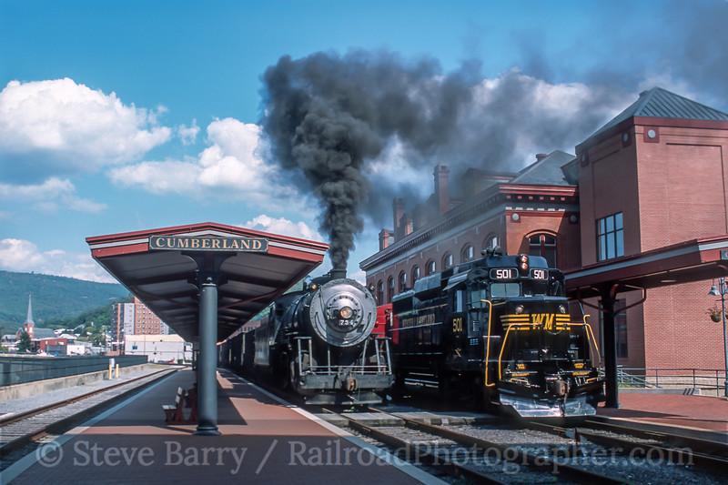 Photo 5439<br /> Western Maryland Scenic<br /> Cumberland, Maryland<br /> September 2001