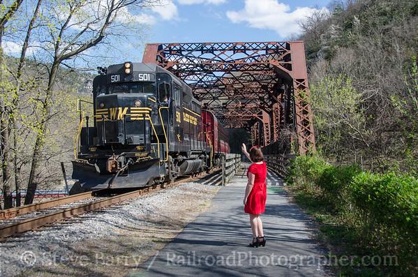 Photo 3723 Western Maryland Scenic; Narrows Park, Maryland April 2, 2016