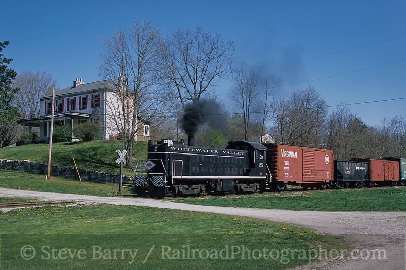 Photo 3794<br /> Whitewater Valley; Laurel, Indiana<br /> April 2005