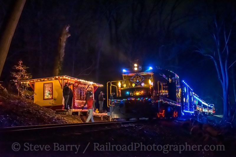Photo 5431<br /> Wilmington & Western<br /> Faulkland Woods, Wilmington, Delaware<br /> December 30, 2018