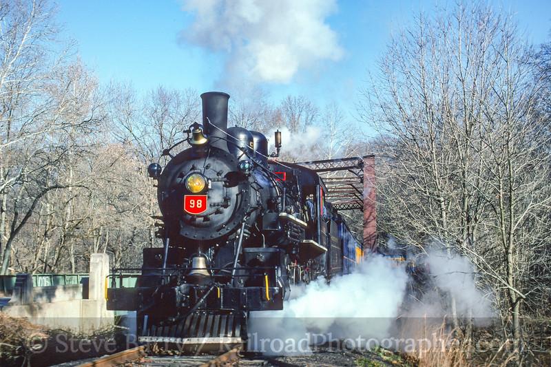 Photo 4075<br /> Wilmington & Western; Ashland, Delaware<br /> October 1996