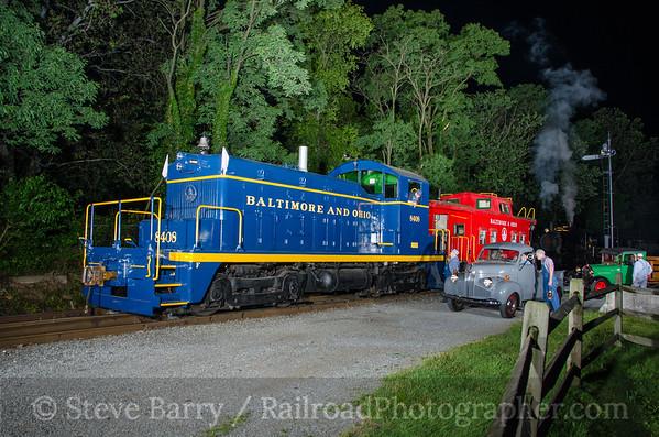 Photo 3811 Wilmington & Western; Greenbank, Delaware June 10, 2016