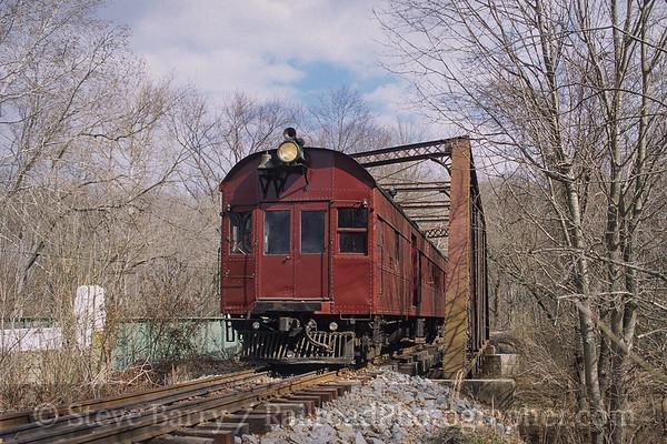 Photo 3789 Wilmington & Western; Ashland, Delaware February 2002