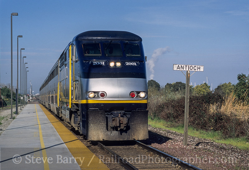 Amtrak; Antioch CA; 3/2000