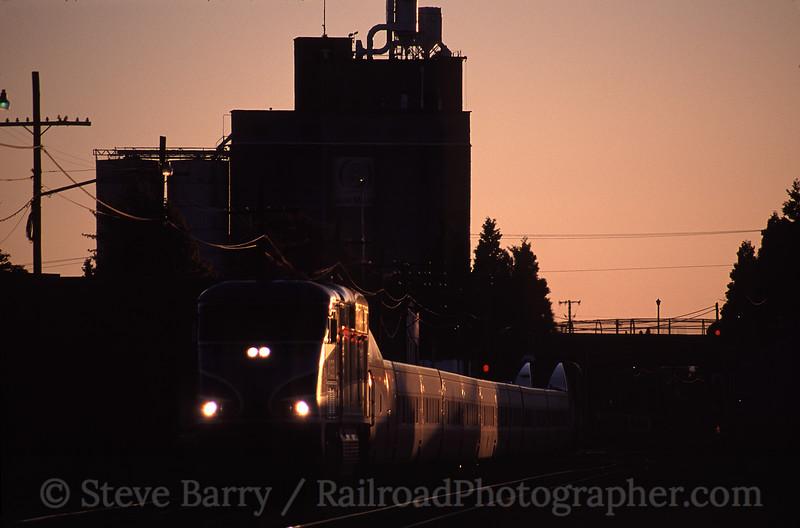 Photo 0836<br /> Amtrak; Eugene, Oregon<br /> July 2005