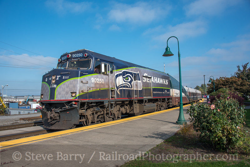 Photo 5351<br /> Amtrak<br /> Vancouver, Washington<br /> October 20, 2018