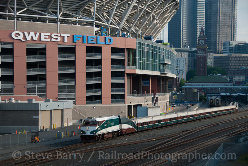 Amtrak Cascades; Seattle WA; 6/12/11