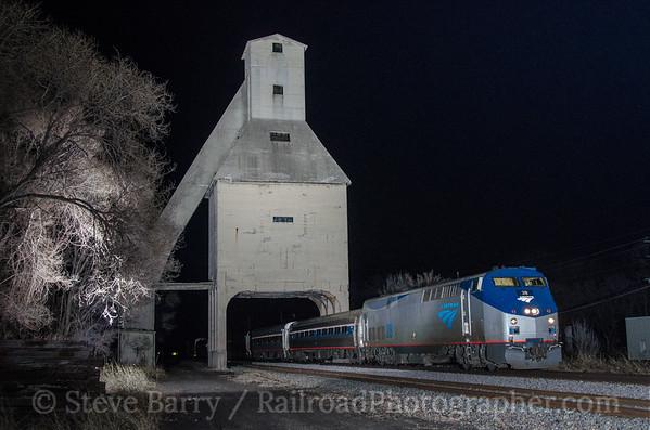 Photo 3370 Amtrak; Michigan City, Indiana April 12, 2015