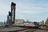 Photo 2058<br /> Amtrak; 21st Street, Chicago, Illinois<br /> April 17, 2011