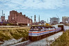 Photo 4859<br /> Amtrak<br /> Baltimore, Maryland<br /> October 1984