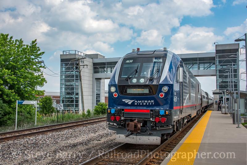 Amtrak; Troy MI; 6/18/19