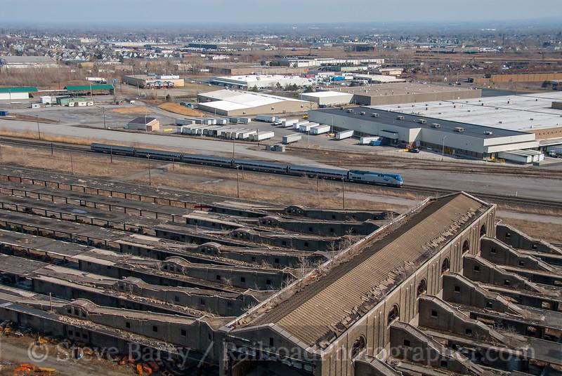 Amtrak; Buffalo NY; 4/5/08