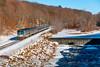 Photo 1484<br /> Amtrak; West Warren, Massachusetts<br /> January 24, 2009