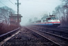 Photo 4536<br /> Amtrak<br /> Croton-on-Hudson, New York<br /> March 1992