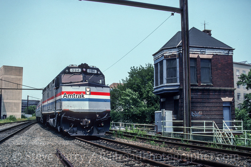 Amtrak; Washington DC; 7/1992