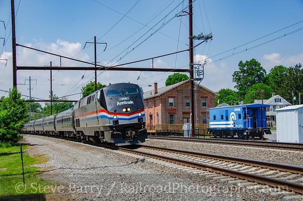 Photo 3800 Amtrak; Christiana, Pennsylvania May 28, 2016