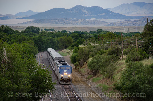 Photo 3893 Amtrak; Raton, New Mexico July 18, 2016