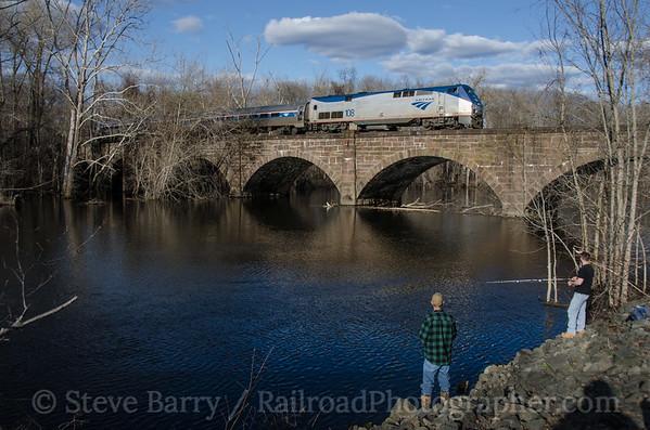 Photo 3379 Amtrak; Windsor, Connecticut April 25, 2015